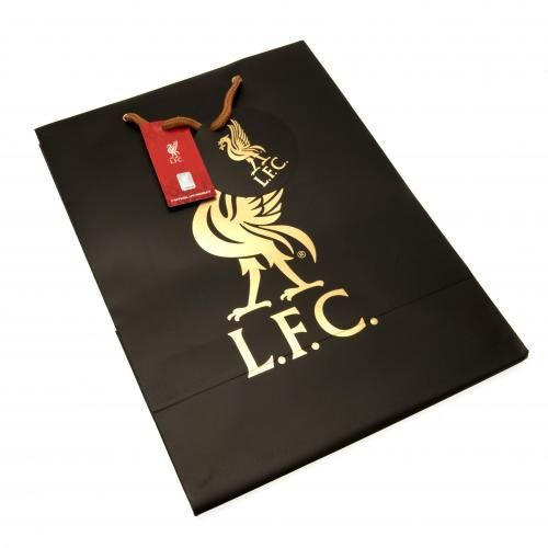 Liverpool Fc Gift Bag Lfc Merchandise Football Gifts Shop